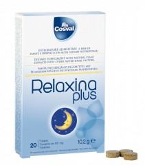 RELAXINA PLUS Cosval, 20 tab. * 510 mg